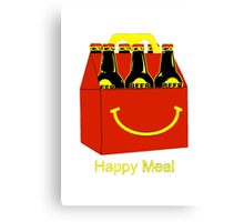 Funny Beer Canvas Print