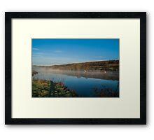 Thames Moods Framed Print