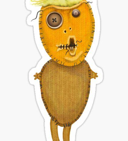 Orange Doll Sticker