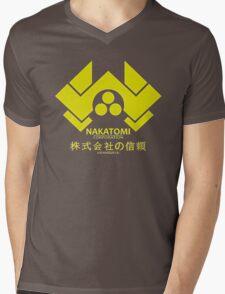 Nakatomi Mens V-Neck T-Shirt