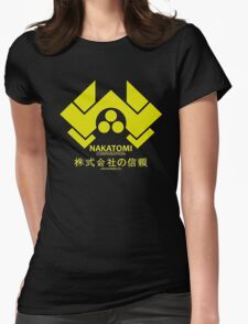 Nakatomi Womens Fitted T-Shirt