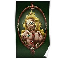 Zombie Peach Poster