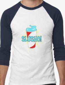Slusho! Men's Baseball ¾ T-Shirt