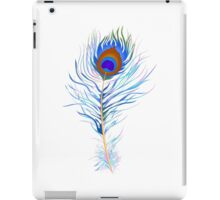 Peacock feather watercolor iPad Case/Skin
