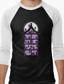 A House full of Ninjas Men's Baseball ¾ T-Shirt