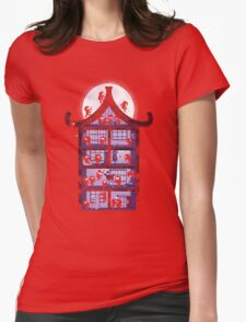 A House full of Ninjas Womens Fitted T-Shirt