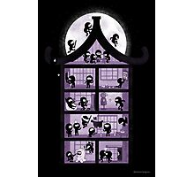 A House full of Ninjas Photographic Print