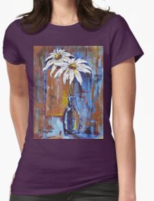 Two Daisies Womens Fitted T-Shirt