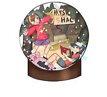 Snow Globe Fan Art Photographic Print
