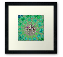 Fractory:  Coral Reefs Framed Print
