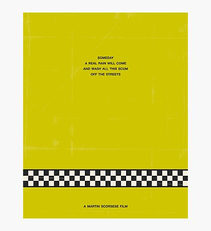Taxi Driver (v1) Photographic Print
