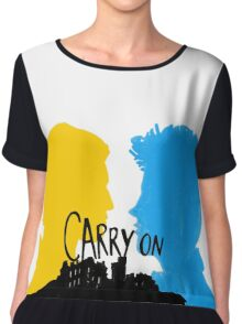 Carry On Chiffon Top