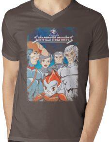 SilverHawks Mens V-Neck T-Shirt