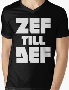 ZEF till DEF Mens V-Neck T-Shirt