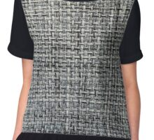 grey background of textile texture Chiffon Top