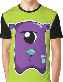 Cute purple monster Graphic T-Shirt