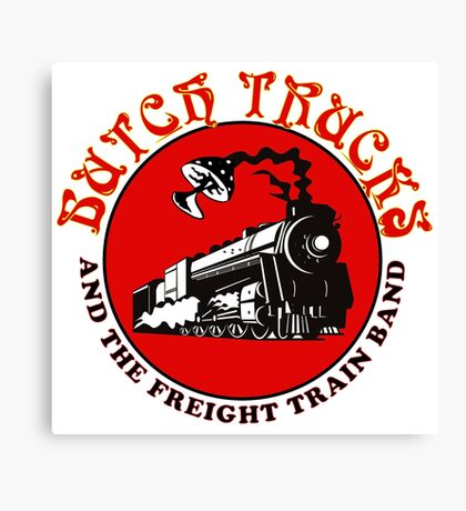 butch train gereja Canvas Print