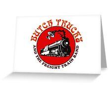 butch train gereja Greeting Card