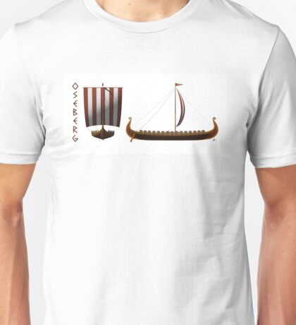 Oseberg Viking Ship Unisex T-Shirt