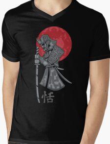 Old Samurai Mens V-Neck T-Shirt