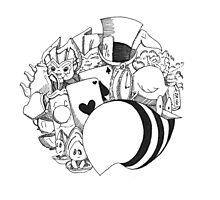 Alice show logo  Photographic Print