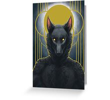 Mortal soul Greeting Card