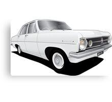 Holden HR Special Sedan - Grecian White Canvas Print