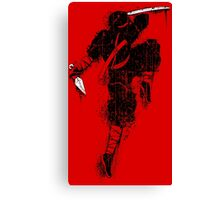 Killer Ninja Canvas Print
