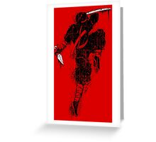 Killer Ninja Greeting Card