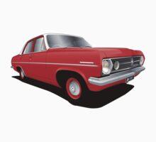 Holden HR Special Sedan - Sultan Red Kids Tee
