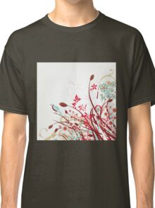 Stylish floral background Classic T-Shirt
