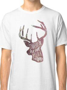 drop a heart, break a name Classic T-Shirt