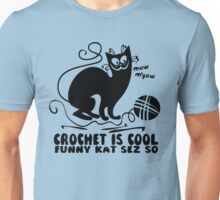 Crochet is Cool Unisex T-Shirt