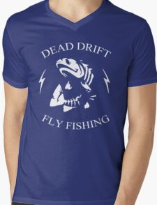Dead Drift Fly Mens V-Neck T-Shirt