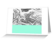 Liquid Sea Greeting Card