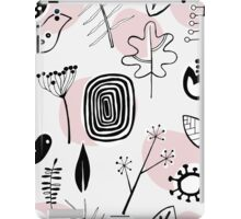 Pastel nordic nature pattern iPad Case/Skin
