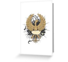 Traditional patterns borders Greeting Card