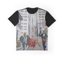 Wall Street Graphic T-Shirt