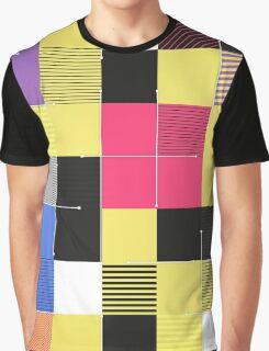 Modern Squares Graphic T-Shirt