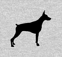 American pit bull terrier silhouette Unisex T-Shirt