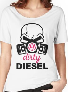 The Dirty Diesel Skull Women's Relaxed Fit T-Shirt
