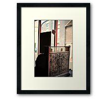 Register Framed Print