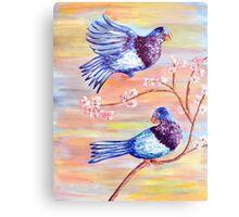 Bird Day celebrations for Vini Marina Canvas Print