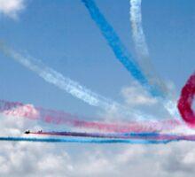 Red Arrows aerobatic display team Sticker