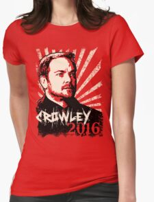 Crowley 2016 - King of Hell Womens Fitted T-Shirt