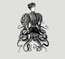 Victorian Squid Woman Unisex T-Shirt