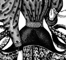 Victorian Squid Woman Sticker