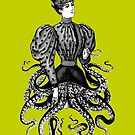 Victorian Squid Woman by monsterplanet