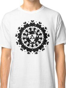 inkblot Black Ink Art Personality Psychology Klecksograph Spots Paint Blotches  Classic T-Shirt