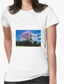 Blossom Womens Fitted T-Shirt